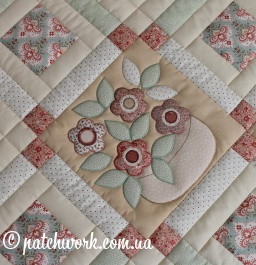 "Patchwork mat ""Cozy"""