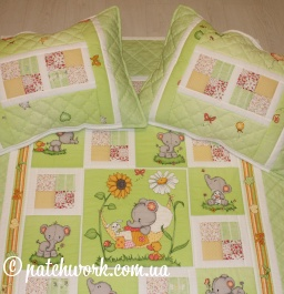 "Patchwork blanket ""Dreams in the colors"""