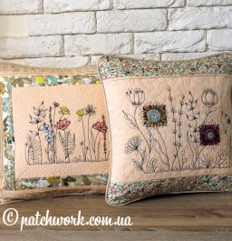 "Pillowcase set ""Meadow flowers"""