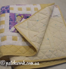"Patchwork blanket ""Little Fairy"""