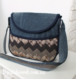 Quilted Denim Bag