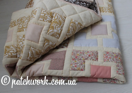 "Patchwork blanket ""Seasons -5"""