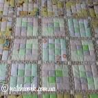Лоскутный коврик