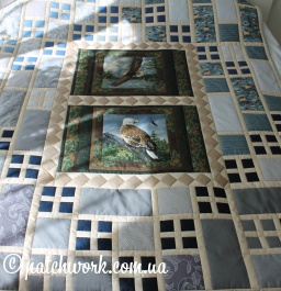 "Quilt cover ""Flight - 2"""