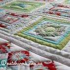 "Bedspread with pillowcase ""Christmas toys"""