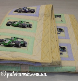"Patchwork blanket ""Cars"""