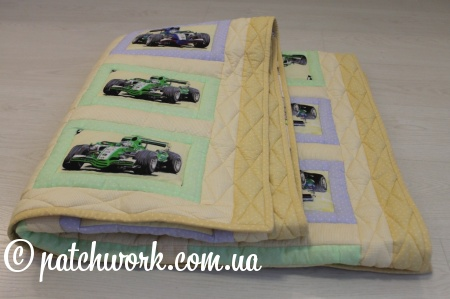 "Patchwork coperta ""Cars"""