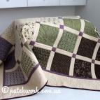 """Patchwork bedspread - """"Herbs"""""""