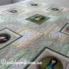 "Patchwork bedspread ""Carefree childhood"""