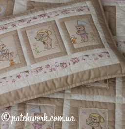 "Quilt ""Lovers Bears -2"""