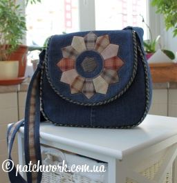 "Denim bag ""Dresden"""