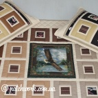 "Patchwork coverlet ""Flight"""
