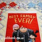 Лоскутное покрывало «Лучшая семья»