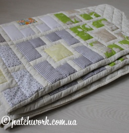 "Patchwork blanket ""Seasons -3"""