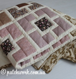 "Patchwork blanket ""Seasons -1"""