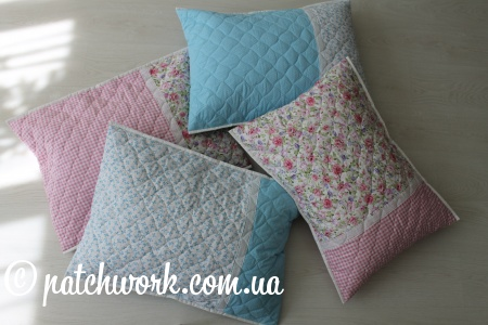 Quilted pillow cases