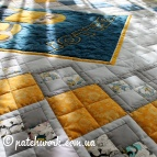 "Patchwork quilt ""Minions"""