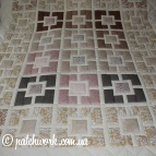 "Patchwork blanket ""Seasons -6"""