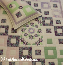 "Patchwork copriletto ""Tinkerbell"""