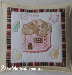 "Pillowcase ""Gingerbread House"""