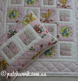 "Baby quilt ""Bambi"""