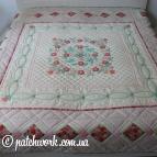 """Patchwork blanket """"Memories of Italy"""""""