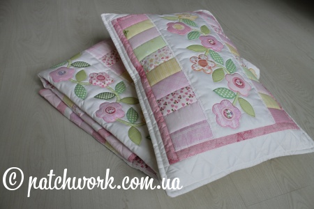 "Patchwork coperta ""Tenderness - 3"""
