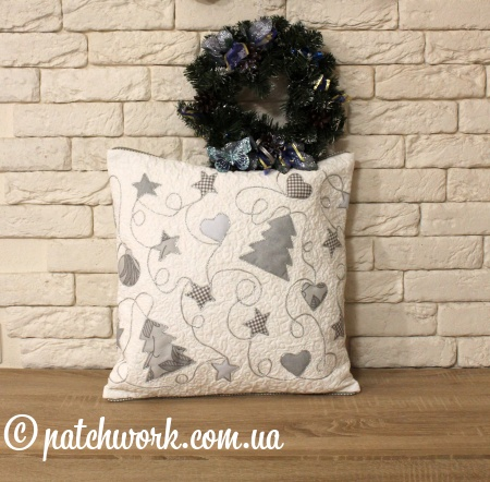 "Pillowcase ""Christmas garland"""