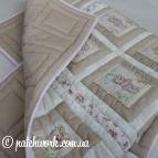 """Лоскутное одеяло """"Влюблённые медвежата -2"""""""