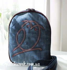 "City backpack ""Owl"""