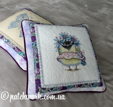 """Set di federe decorative """"Butterfly and Sparrow"""""""