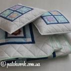 """Лоскутное одеяло - покрывало """"Весёлые картинки"""""""