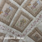 "Quilt ""Lovers Orsi -2"""