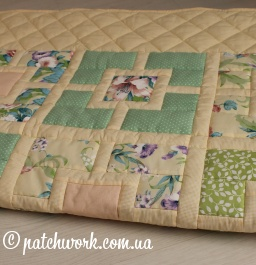 "Patchwork blanket ""Seasons -4"""