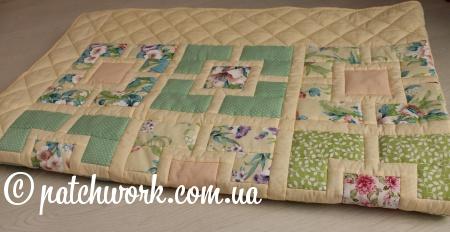 """Patchwork blanket """"Seasons -4"""""""
