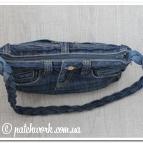 Сумка джинсовая - 2