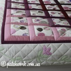 "Quilt cover ""Color overflow"""
