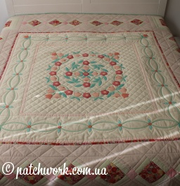 "Patchwork blanket ""Memories of Italy"""