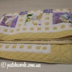 "Patchwork blanket ""Little Fairy"""