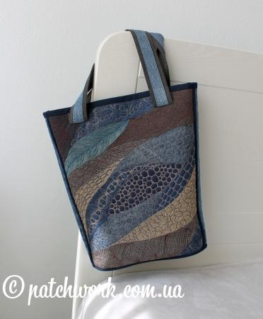Джинсовая сумка «Морская Мозаика»