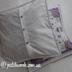 "Pillowcases to veil ""Dreams of Love"""