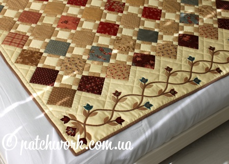 "Patchwork cover ""Italian motifs"""