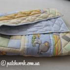 """Лоскутное одеяло """"Милый слонёнок"""""""
