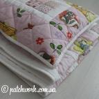 Детское лоскутное одеяло «Бэмби»