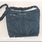 Сумка джинсовая -1